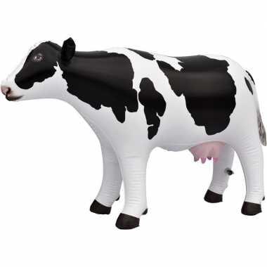 Goedkope opblaasbare koe decoratie/speelgoed