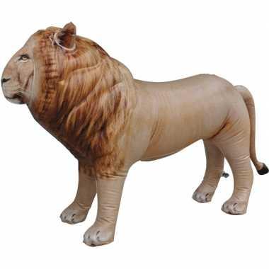 Goedkope opblaasbare leeuw decoratie/speelgoed