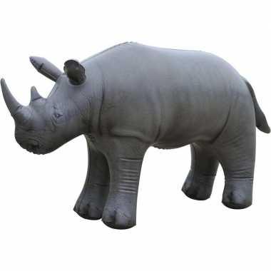 Goedkope opblaasbare neushoorn decoratie/speelgoed