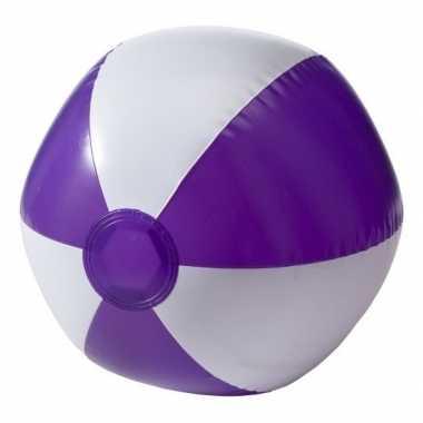 Goedkope opblaasbare speelgoed strandbal paars