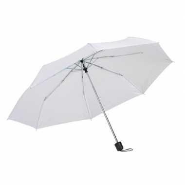Goedkope opvouwbare mini paraplu wit