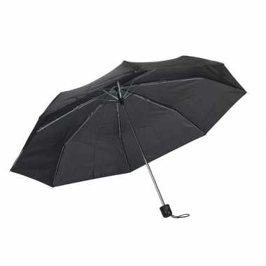 Goedkope opvouwbare mini paraplu zwart