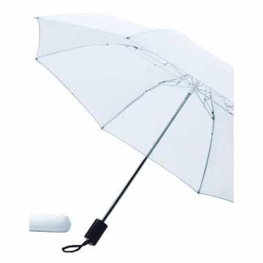 Goedkope opvouwbare paraplu wit