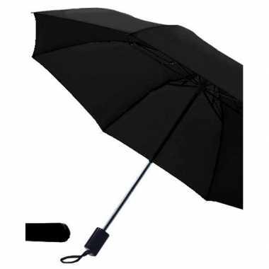 Goedkope opvouwbare paraplu zwart