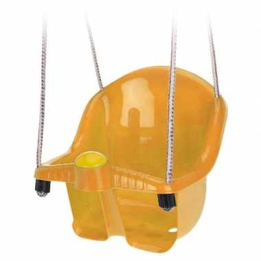 Goedkope oranje peuterschommel touw