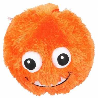 Goedkope oranje pluche bal gezicht