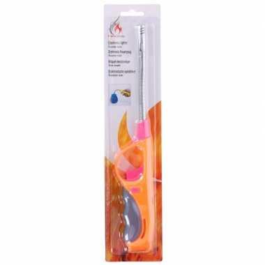 Goedkope oranje/roze gasaansteker flexibel