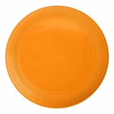 Goedkope oranje speelgoed frisbee