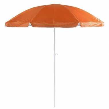 Goedkope oranje strand parasol nylon