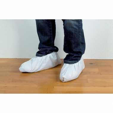 Goedkope paar schoenhoezen / schoenovertrekken wit