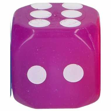 Goedkope paarse dobbelsteen led lampjes