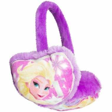 Goedkope paarse frozen oorwarmers meisjes