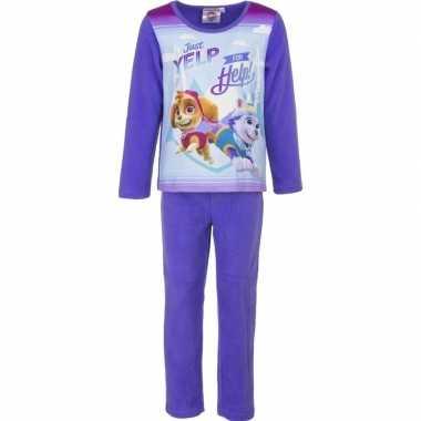 Goedkope paarse paw patrol pyjama meisjes