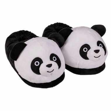 Goedkope panda pantoffels dames