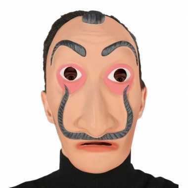 Goedkope papel masker verkleed accessoire volwassenen