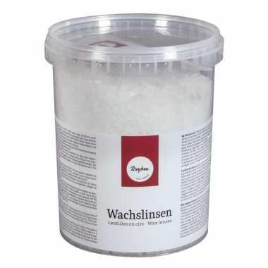 Goedkope paraffine was pastilles wit gram