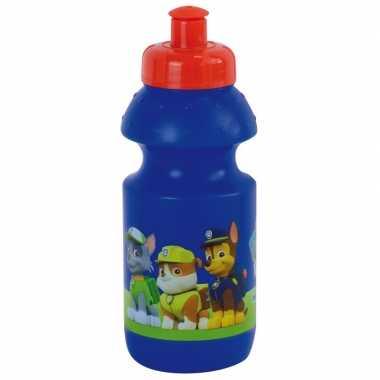 Goedkope paw patrol pop up drinkbeker blauw