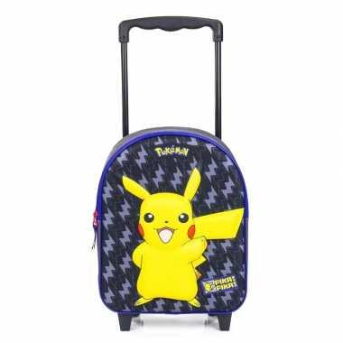 Goedkope pikachu d handbagage reiskoffer/trolley kinderen