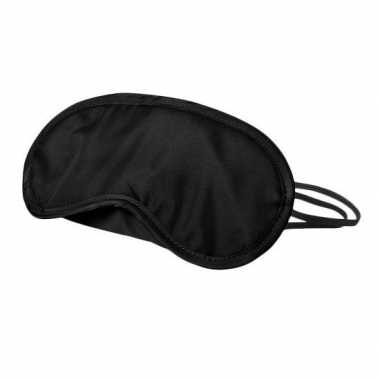 Goedkope pinata oogmasker/blinddoek zwart
