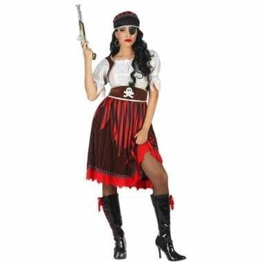 Goedkope piraat rachel verkleed pak/kostuum dames