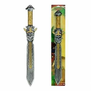 Goedkope piraten speelgoed zwaard goud