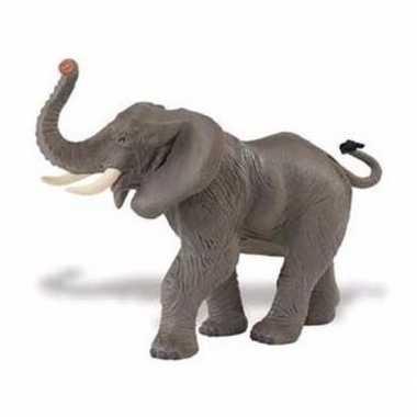 Goedkope plastic afrikaanse olifant gestrekte slurf