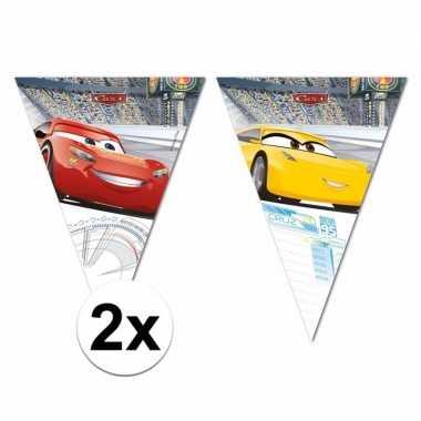 Goedkope plastic cars vlaggenlijnen totaal meter