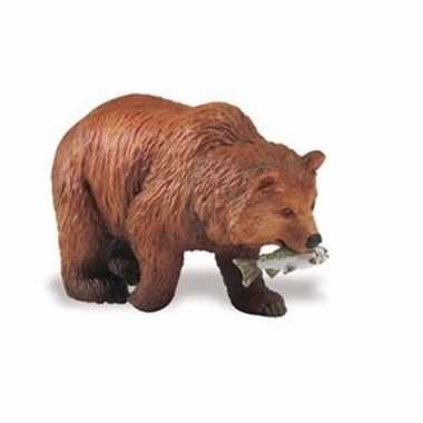 Goedkope plastic grizzlybeer zalm