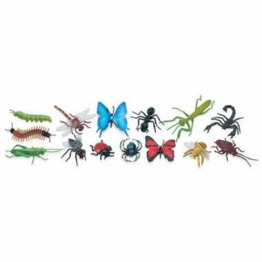 Goedkope plastic speelgoed insecten stuks