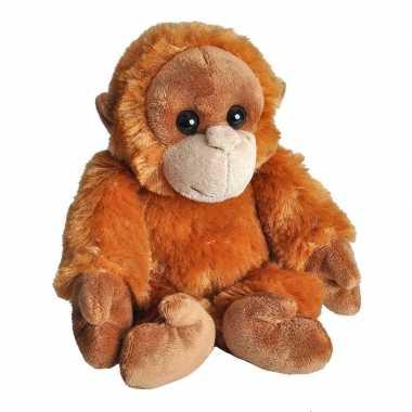 Goedkope pluche baby orang oetan aap knuffel