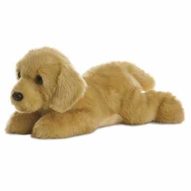 Goedkope pluche blonde labrador honden knuffel speelgoed