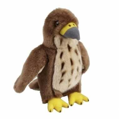 Goedkope pluche bruine havik vogel knuffel speelgoed