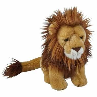 Goedkope pluche bruine leeuw knuffel speelgoed