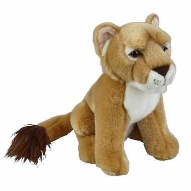 Goedkope pluche bruine leeuwin knuffel speelgoed