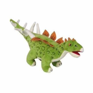 Goedkope pluche dinosaurus knuffel stegosaurus