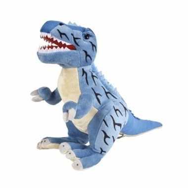 Goedkope pluche dinosaurus knuffel t rex
