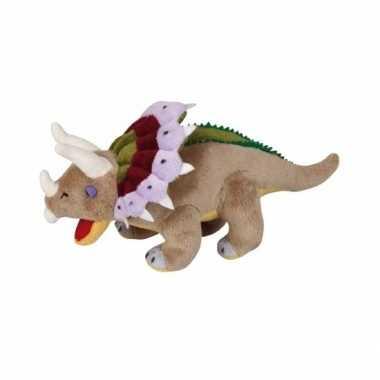 Goedkope pluche dinosaurus triceratops knuffel