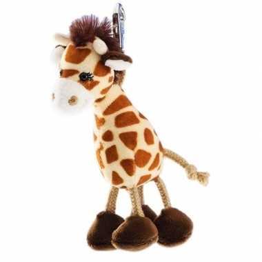 Goedkope pluche giraffe sleutelhanger