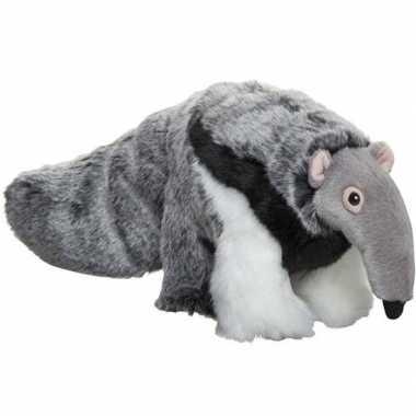 Goedkope pluche grijze miereneter knuffel speelgoed