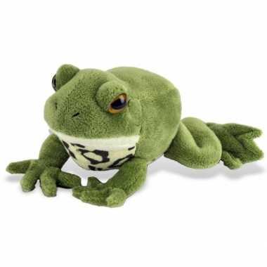 Goedkope pluche groene knuffel kikker