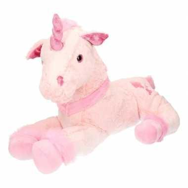 Goedkope pluche grote roze eenhoorn knuffel