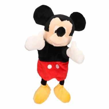 Goedkope pluche handpop mickey mouse