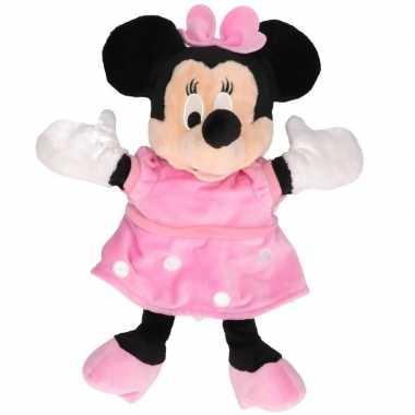 Goedkope pluche handpop minnie mouse
