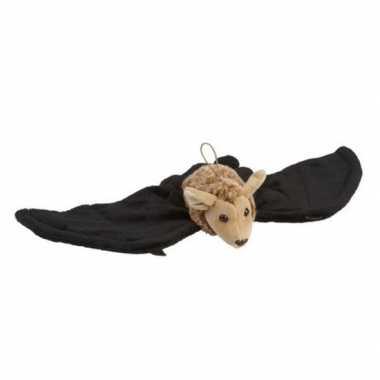 Goedkope pluche hangende vleermuis/vleermuizen knuffel speelgoed
