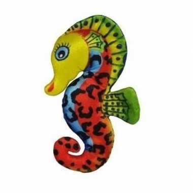 Goedkope pluche knuffel zeepaardje geel