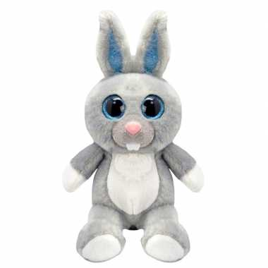 Goedkope pluche konijn/haas knuffel
