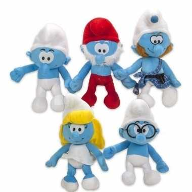 Goedkope pluche smurf smurfen knuffel pop speelgoed