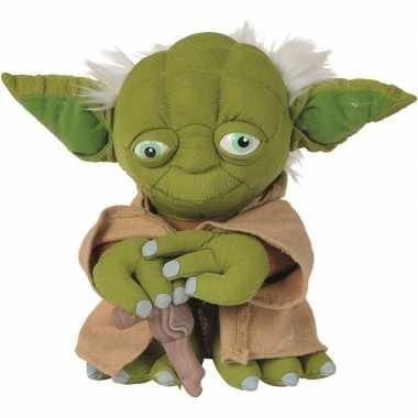 Goedkope pluche star wars yoda knuffel