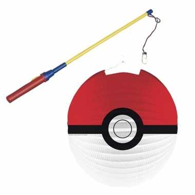 Goedkope pokemon ball lampion lampionstokje