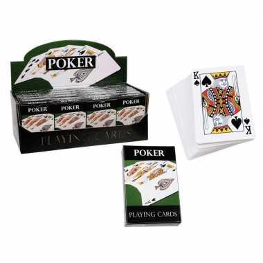 Goedkope poker speelkaarten stuks